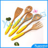 "New Norpro 12"" Bamboo 5 PC Cooking Utensil Set"