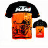 New Design Short Sleeve T-Shirt Sublimation Motocross Racing Jersey (ASH02)