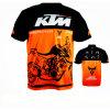 New Design Short Sleeve T-Shirt Sublimation Motocross Racing Jersey (ASH02)