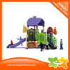 Little Outdoor Playground Equipment Children Toys Slide with Tic Tac Toe