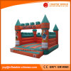 Inflatable Jumping Bouncer Castle with Giant Dual Slide Combo (T2-218)