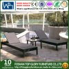 Outdoor Beach Furniture Hotel Poolside Rattan Sun Lounger (TG-JW93)