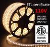 110V SMD 5050 Waterproof Flexible ETL LED Strip Light
