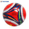 Various Size Red Durable PVC Leather Soccer Ball