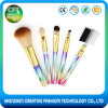Free Sample 5PCS High Quality Rainbow Makeup Brush Set