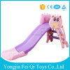 Manufacture Outdoor Furniture Colorful Plastic Slide for Kids with Safety