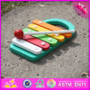 2016 Wholesale Baby Wooden Lovely Xylophone Music Toy, Educational Kids Wooden Lovely Xylophone Music Toy W07c044