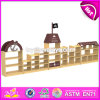 Wholesale Cheap Cartoon Kids Preschool Toy Shelf Wooden Daycare Furniture W08c187