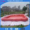 Red Inflatable Swimming Pool for Kids Pool Float