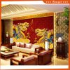 Two Dragons Chinese Styel Oil Panitng for Home Decoration