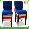 Excellent Quality Blue Church Chair Cover Fabric for Prayer