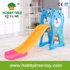 2017 Bear Style Plastic Indoor Kids Slide with Ce (HBS17021A)