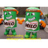 Wholesale Outdoor Inflatable Advertising Coffee Can for Display, Giant Inflatable Can Model