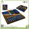 Durable Safe Indoor Kids Trampoline Park with Enclosure, Large Trampoline Park