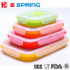 Foldable Food Container Silicone Lunch Box Set Microwave and Dishwasher Safe