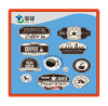 Coffee Shop Paper Adhesive Stickers with Irregular Shape