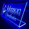 L-Shape Acrylic LED Sign Display, LED Acrylic Menu Stand