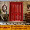 China Best Price Unequal Double Entry Wooden Door (GSP1-011)