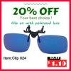 New Fashion Clip-on Sunglasses
