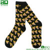 Wholesale Pizza Pattern Dress Crew Cotton Socks