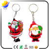 2017 Hot Style and Lovely Christmas PVC Metal Key Chain and Beautiful PVC Key Chain for Christmas Gift
