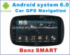 New Ui Android 6.0 Car GPS Navigation for Benz Smart Wtih Car Navigation