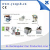 Chemical Customized Square Tea Tin Can Making Machine Production Line