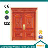Main Double Door Wooden Solid Door for Hotels