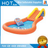 Family Garden Water Game Inflatable Slide with Pool