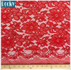 "58"" Embroidered Poly Spandex French Floral Stretch Lace Fabric"
