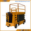 6-11m Electric Scissor Lift with Pedal Patent Design Withce Certificate