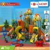 Children Outdoor Playground Big Slides for Kids, Plastic Outdoor Playground