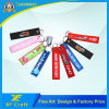Cheap Customized Embroidery Fabric Keychain/Remove Before Flight Key Tag for Souvenir