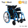 China Supplier Topmedi Cheap Price Foldable Electric Wheelchair