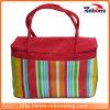 High Quality Rainbow Pattern Wine Cooler Plastic Bag Cooler Bag Disposable Cooler Bag for Frozen Food