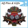 Metal Colorful Lapel Pin with Soft Enamel, Metal Badge