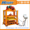 Qtj4-40 Simple Block Machine Paver Machine Manual Solid Hollow Block Making Machine