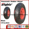 High Quality Solid 6.00-6 Blue Rubber Wheel.