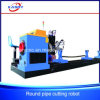 Stainless Steel Pipe Round Tube /Intersection Line CNC Plasma Flame Cutting Hole Drilling Beveling Slotting Machine