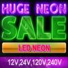 12V Waterproof LED Neon Signs