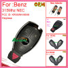 Remote Control Key with 2 Button 433MHz with Nec Chip for Benz