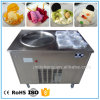 Best Price Fried Roll Ice Cream Machine with 6 Fruit Toppings