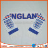 100% Polyester Printed Soccer Scarf for Promotion