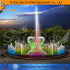 China Garden Color Changing Stainless Steel Pump Dancing Fountain