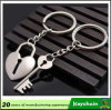 Popular Key and Lock Couple Key Chain