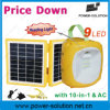 Solar Panel System for Mobile Phone Charging