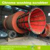 Large Capacity Trommel Scrubber for Alluvial Chrome Mining