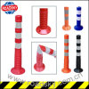 PU/ PVC Roadside Parking Sign Spring Traffic Post
