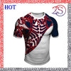 Custom Sublimation Colorful Short Sleeve Rugby Jersey