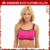 Women Dri Fit Plain Pink Sports Bra Lycra